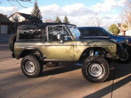 1969 Ford Bronco WCB Inspired Mod Motored Pre Runner Build
