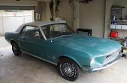 1968 Ford Mustang Coupe Build by Chopmgw1968 Mustang Coupe Build